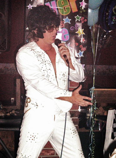 brown sounds dj, elvis impersonator